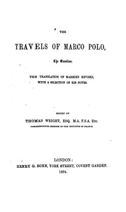 The travels of marco polo the venetian polo marco 1254 1323 the travels of marco polo the venetian fandeluxe Ebook collections