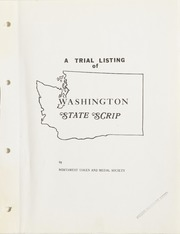 A Trial Listing of Washington State Scrip