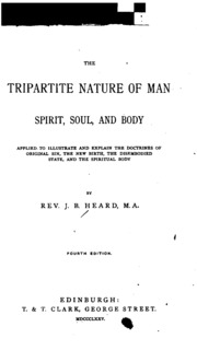tripartite soul essay The tripartite biblical vision of man: a key to the christian life  with his soul: if the heart stops  while i hope at this stage the reader will recognize that.