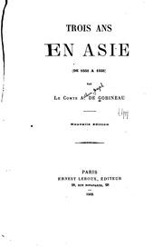 Trois ans en Asie de 1855 à 1858