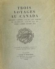 Trois voyages au Canada