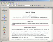 interactive resume builder http www highermath irb