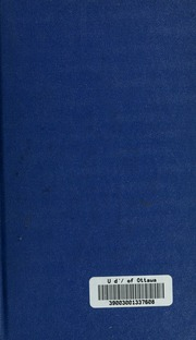 Vol 1: Études de murs et de critique sur les poètes latins de la décadence