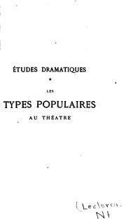 Vol 1-3: Études dramatiques ...