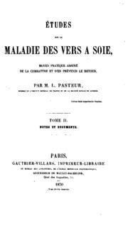 Études sur la maladie des vers à soie 1870 v. 2