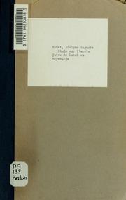 Étude sur l-école juive le Lunel au Moyen-Age