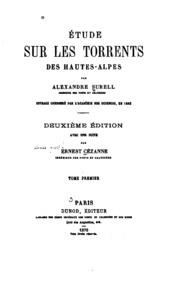 Vol 1: Étude sur les torrents des Hautes-Alpes
