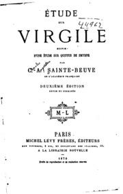 Étude sur Virgile: suivie d-une étude sur Quintus de Smyrne
