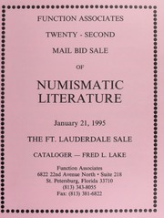 Twenty-Second Mail Bid Sale of Numismatic Literature