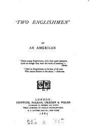 -Two Englishmen-, by an American G.M. Royce.