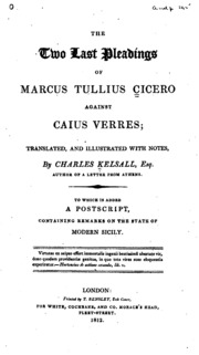ciceros orations against verres essay Transcript of cicero life and career revision  such as the pro-roscius or against verres gained him  with his catilinarian orations and to demoralise .