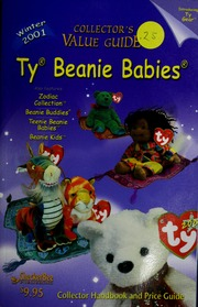 b8cb5e3e934 Ty Beanie Babies   collector handbook and price guide   CheckerBee  Publishing   Free Download