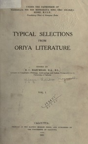 Oriya : Books by Language : Free Texts : Free Download