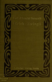 Ulrich Zwingli; Schauspiel