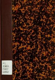Un drame sous Philippe II; drame en quatre actes en vers