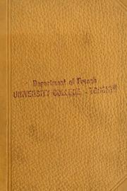 Un héritage. Edited by Pauline K. Leveson