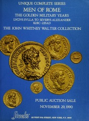 Unique Complete Series Men of Rome The Golden Military Years Lvcivs Svlla to Severvs Alexander 82BC-235AD