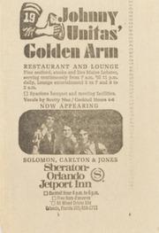 Johnny Unitas Newspaper Clippings