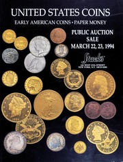 United States Coins: Early American Coins, Paper Money