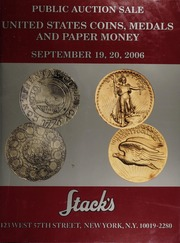 United States Coins, Medals and Paper Money