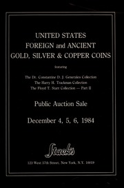 United States, Foreign and Ancient Gold, Silver & Copper Coins