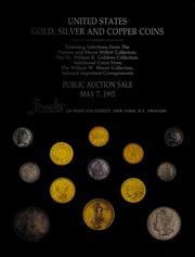 United States Gold, Silver and Copper Coins