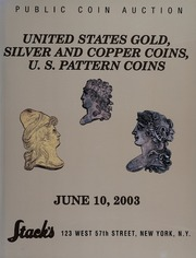 United States Gold, Silver and Copper Coins, U.S. Pattern Coins