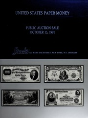 United States Paper Money: Part I of the October Sale
