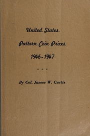 United States Pattern Coin Prices: 1946-1947