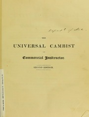 The Universal Cambist and Commercial Instructor (Vol. 1)