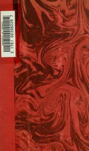 Un Lamennais inconnu: lettres inédites de Lamennais à Benoit d-Azy, publiees avec une introd. et des notes