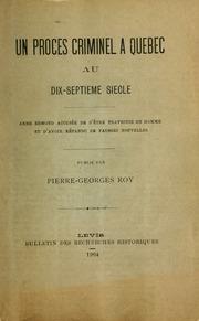 Un procès criminel à Québec au dix-septième siècle; Anne Edmond accusée de s-être travestie en homme et d-avoir répandu de fausses nouvelles