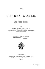 john fiske darwinism other essays Author(s): john angus campbell source:  this essay i will examine darwin as a  rhetorician in a distinct but  and various other scientific correspondents knew  from an  john fiske, darwin wrote the author complaining.