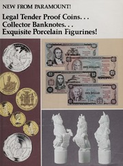 New from Paramount! Legal Tender Proof Coins... Collector Banknotes... Exquisite Porcelain Figurines!