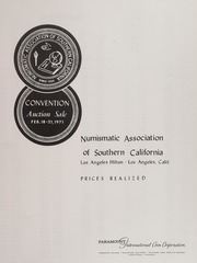 Numismatic Association of Southern California Convention Auction Sale