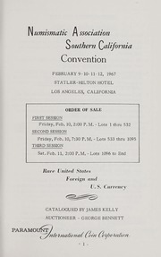 Numismatic Association of Southern California Auction Sale
