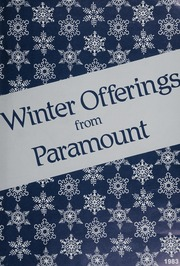Winter Offerings from Paramount