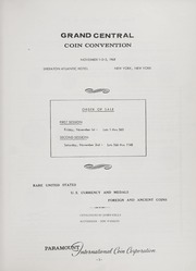 Grand Central Coin Convention Auction Sale (1968)