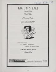 Mail Sale Auction