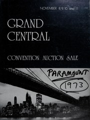 Grand Central Convention Auction Sale