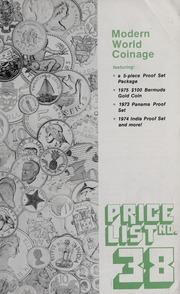 Modern World Coinage: Price List No. 38