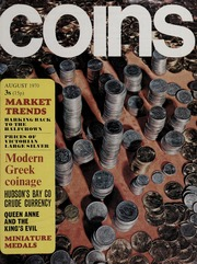 Coins: Vol. 7, No. 8, August 1970