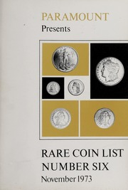 Rare Coin List Number Six