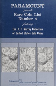 Rare Coin List Number Four