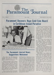 The Paramount Journal: Vol. 1 Issue 1, May 1973