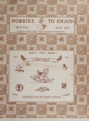 Hobbies to Enjoy: Book No. 32