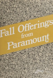 Fall Offerings from Paramount: October 1984