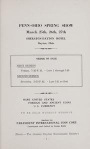 Penn-Ohio Convention Auction Sale (1966)