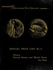 Paramount Special Price List #3