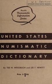 United States Numismatic Dictionary